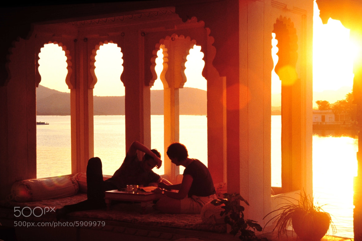 Photograph Udaipur Sunset by Fredrik Koerfer on 500px