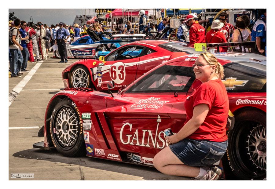 Gainsco 2013 Corvette DP and Fan
