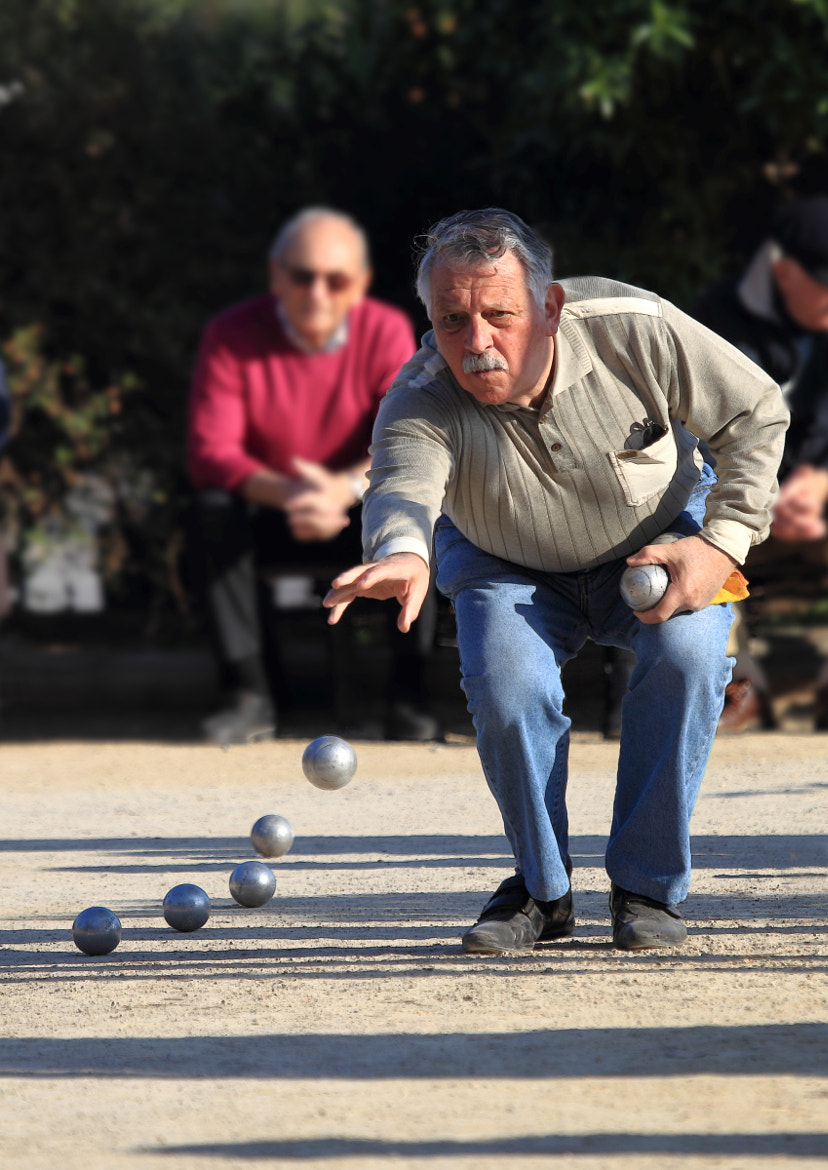 Photograph The Boules player by Barry Boswell on 500px