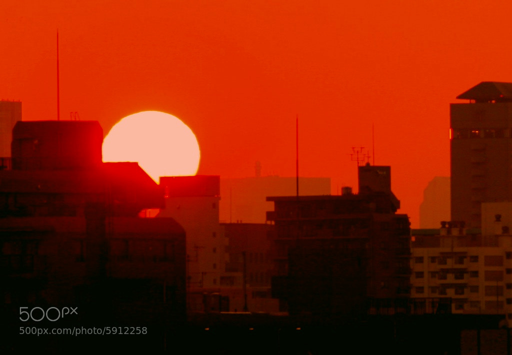 Photograph Japanese sunset by Chris Gilloch on 500px