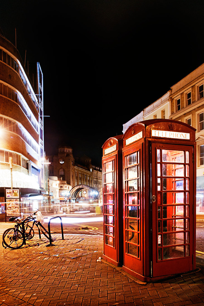 Photograph Why the iconic red phone box still rings a bell? by Youcef Bendraou on 500px