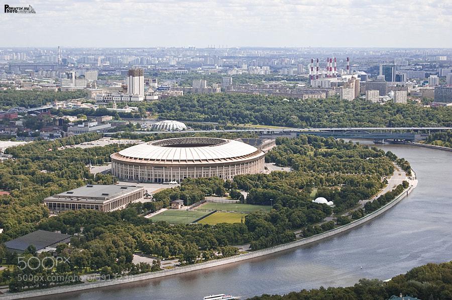 Photograph Football stadium by Andrey Porutin on 500px