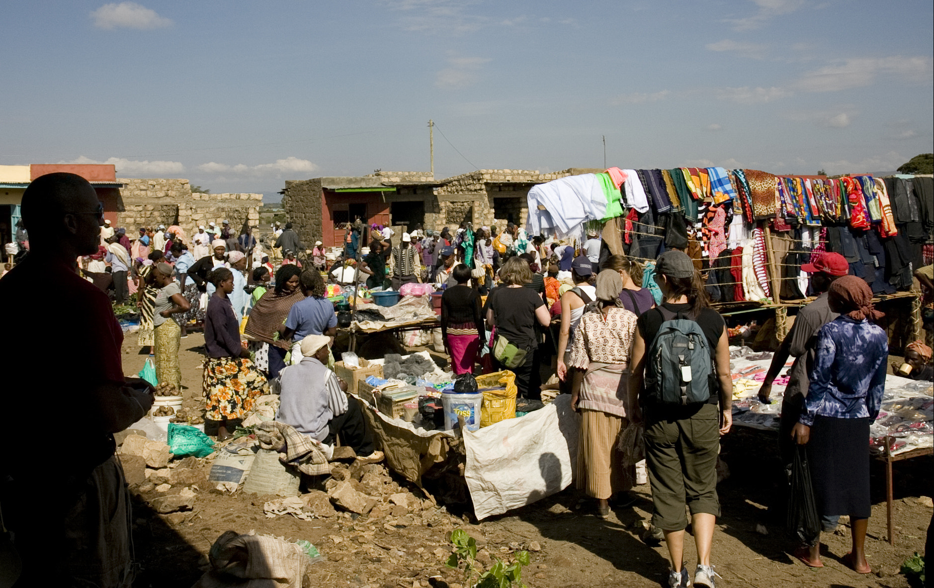 Photograph Mai Mahiu Market by Jonathan Fuhrken on 500px