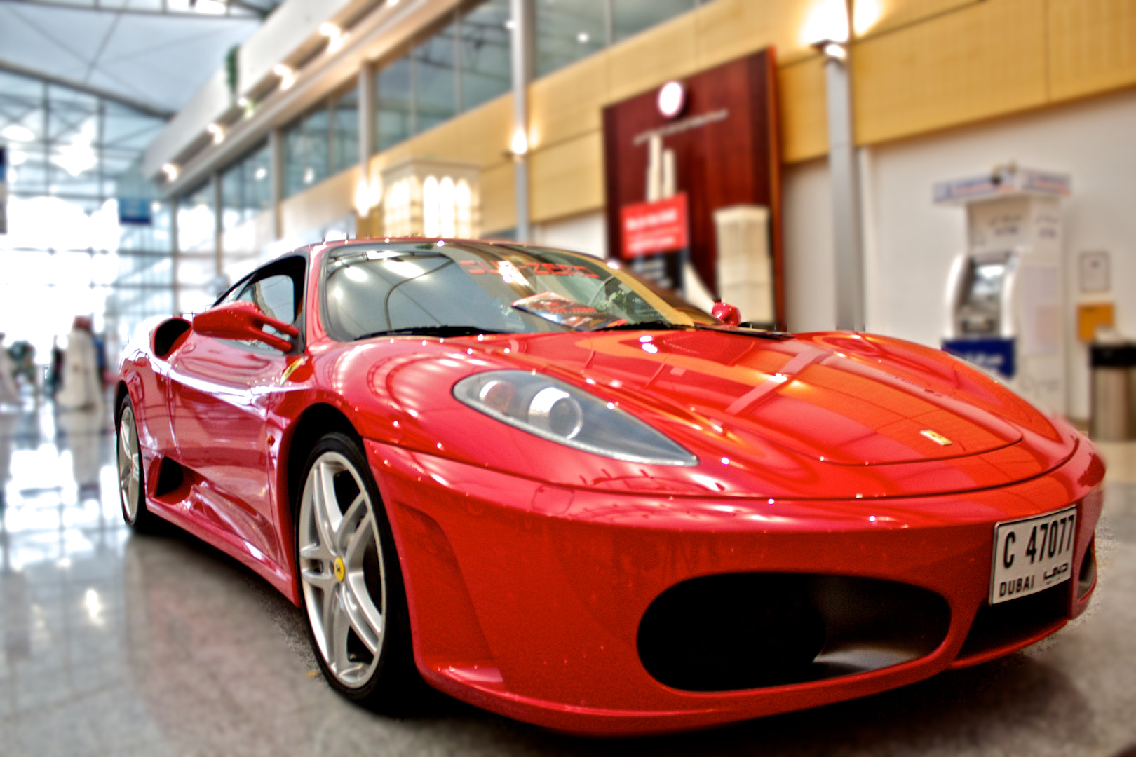 Photograph Ferrari by Hamza Feroz on 500px