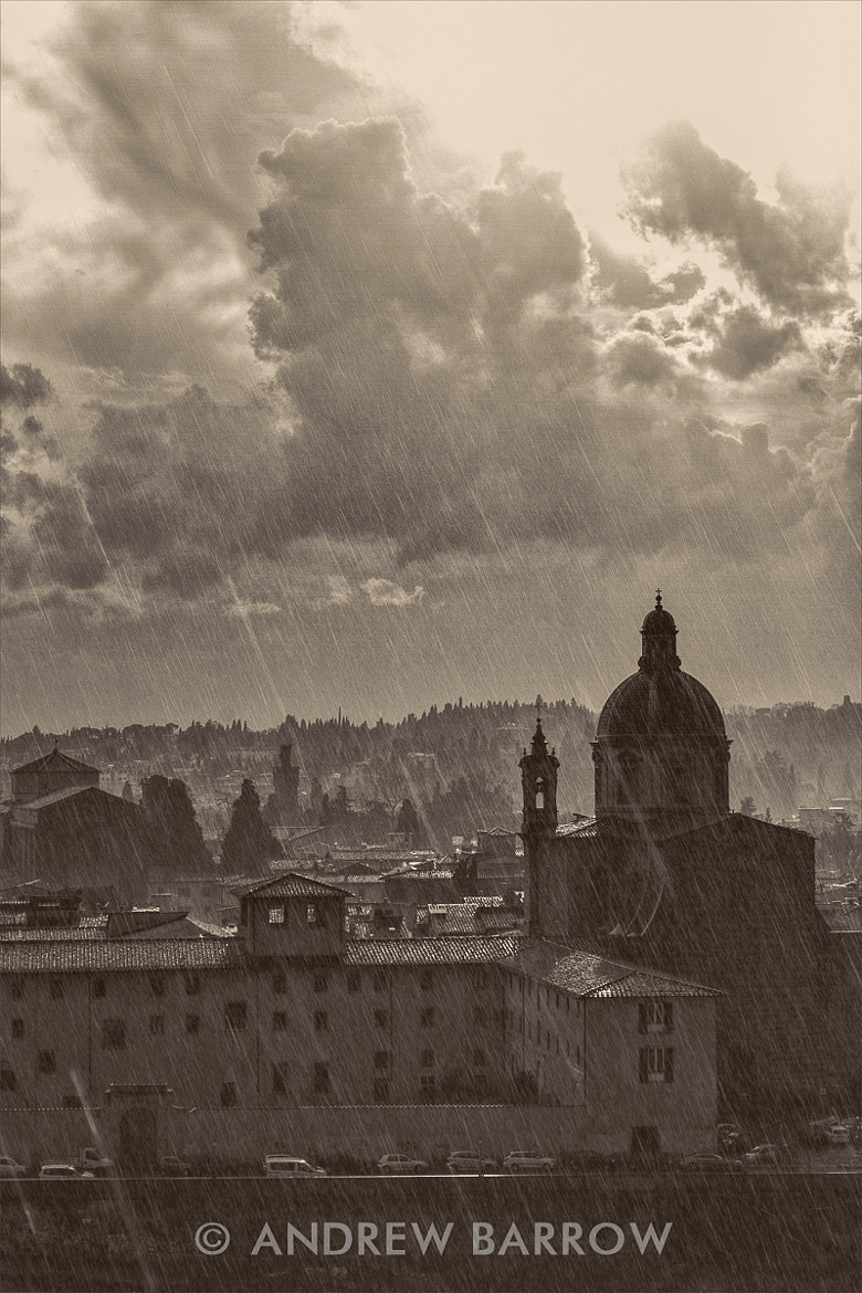Photograph Rain and San Frediano in Cestello by Andrew Barrow LRPS on 500px