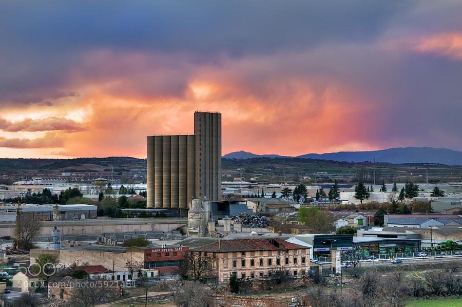 Silo de Guadalajara España by CHRISTIAN GALLEGOS (posonty) on 500px.com