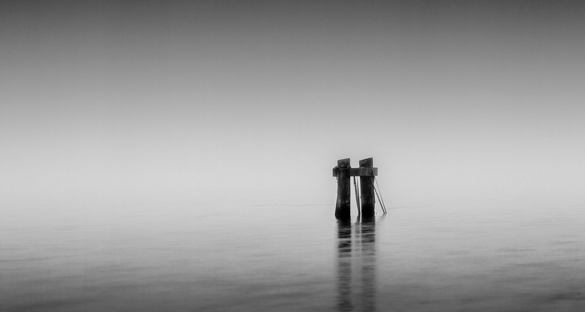 Photograph The Poles In The Fog by Jani Astikainen on 500px