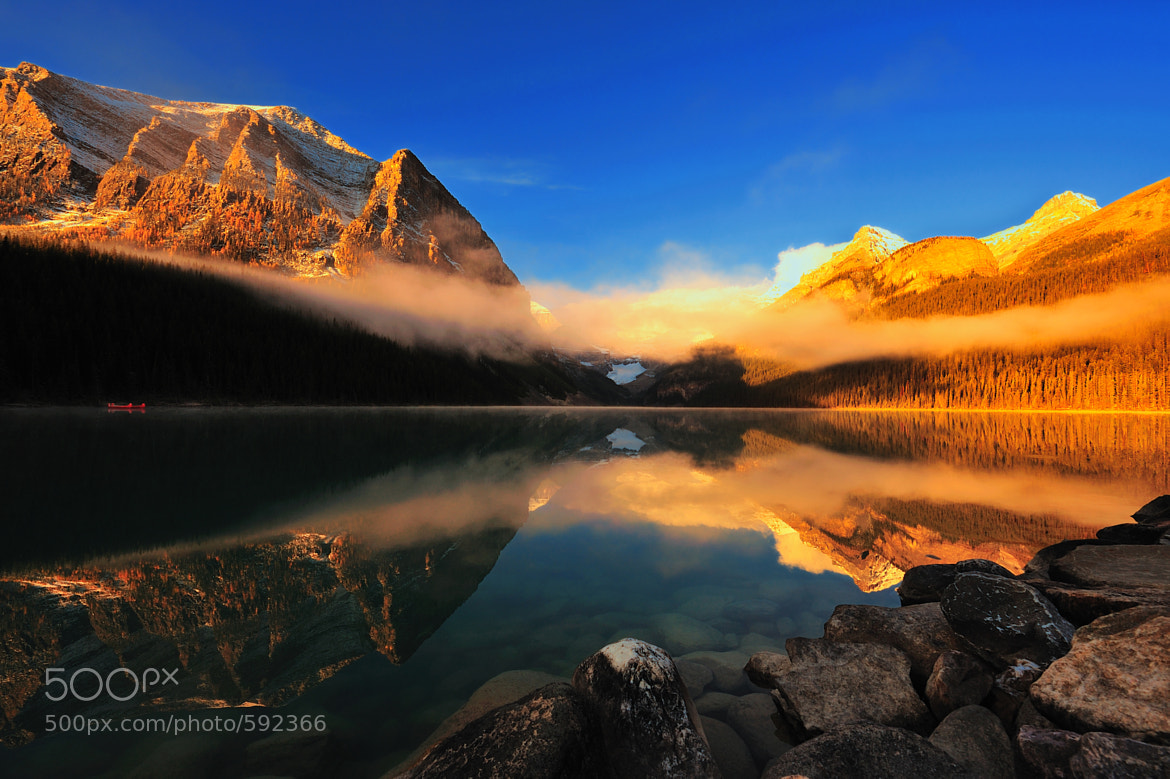 Photograph Lake Louise by Peerakit Jirachetthakun on 500px
