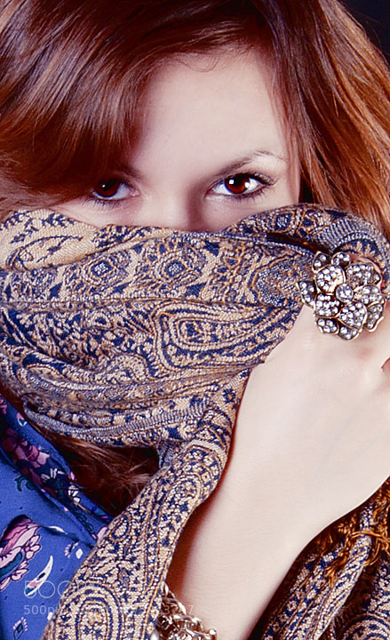"Photograph ""scarf"" by Yiannis Papachristodoulou on 500px"