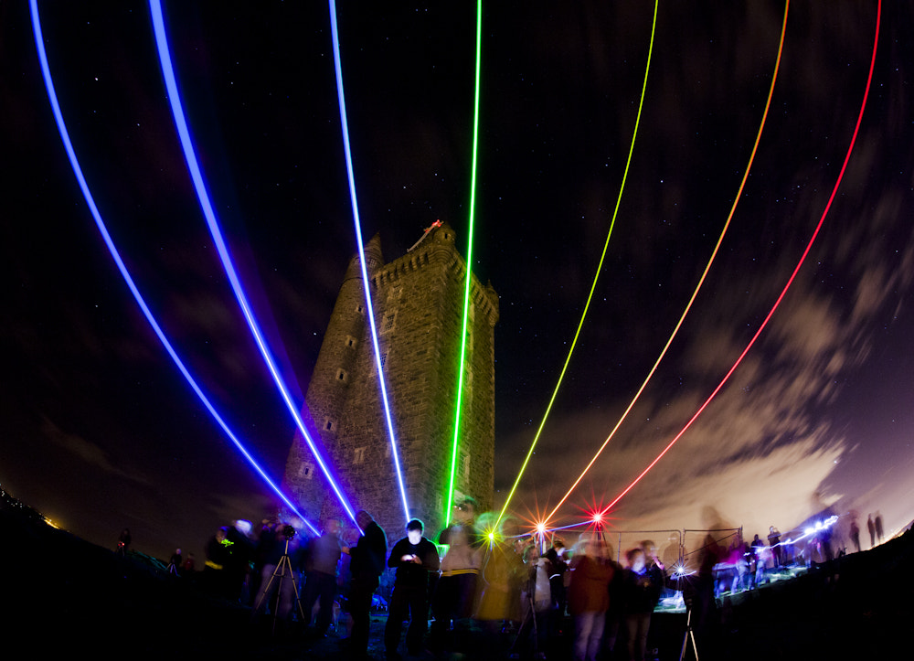 Photograph Global Rainbow Lights base- tower by Stephen Lyons on 500px