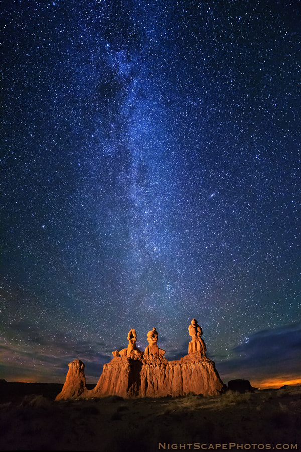 Stars over Hoodoos