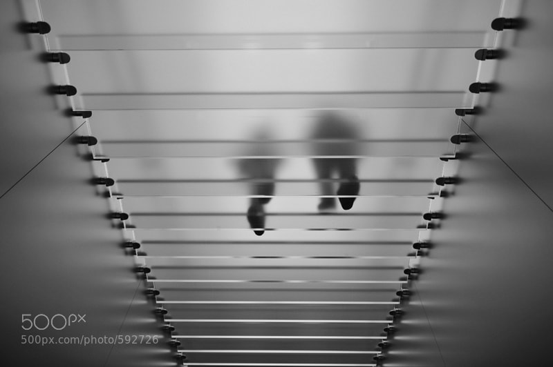 Photograph Apple Store Stairs by seb 24-36 on 500px