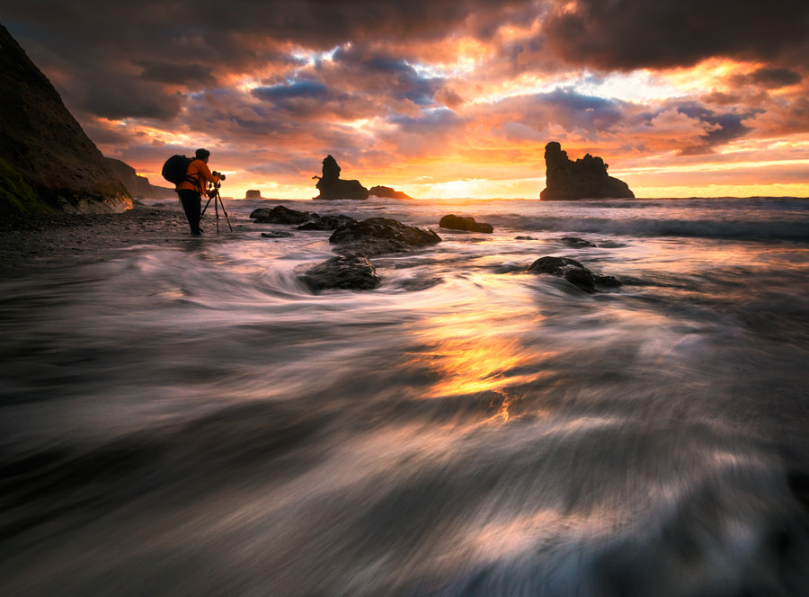 Photograph Sunset over Tasman Sea by AtomicZen : ) on 500px