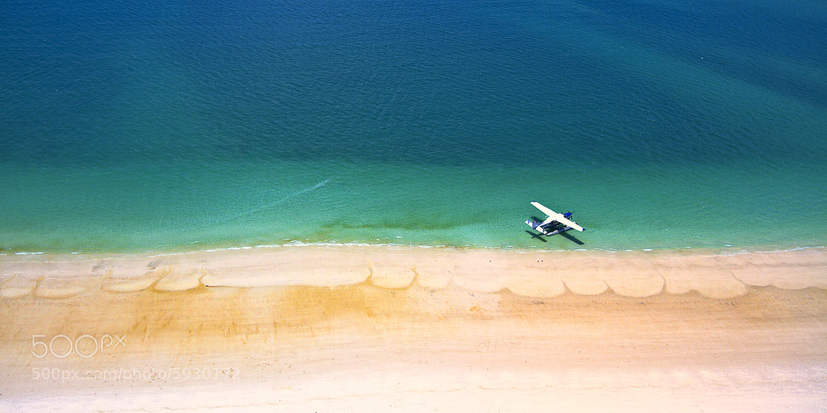 Photograph Private plane and the beach by Stanley Kozak on 500px