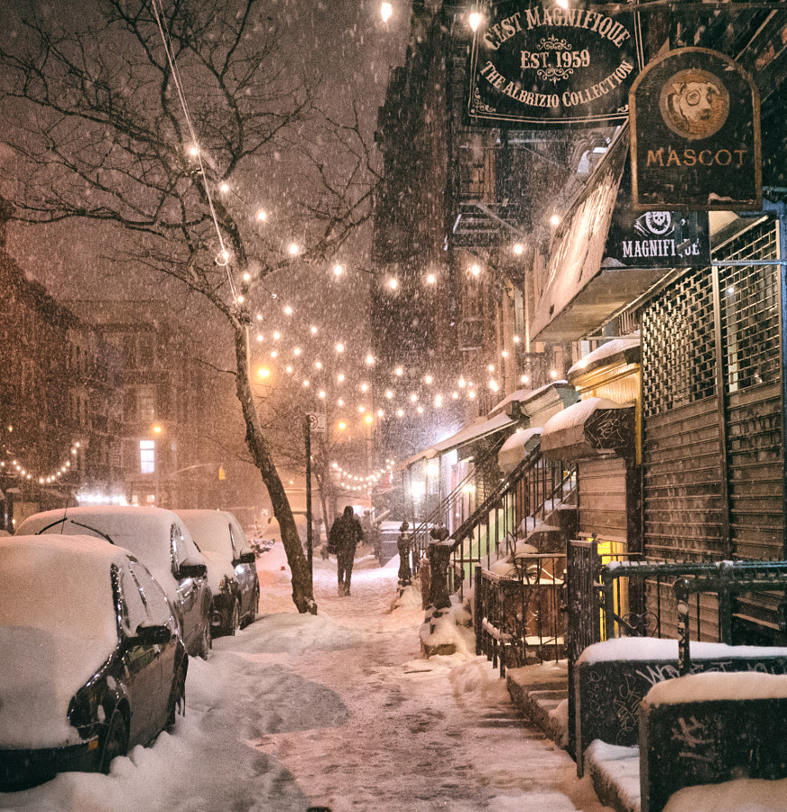 Photograph Winter Night - New York City by Vivienne Gucwa on 500px