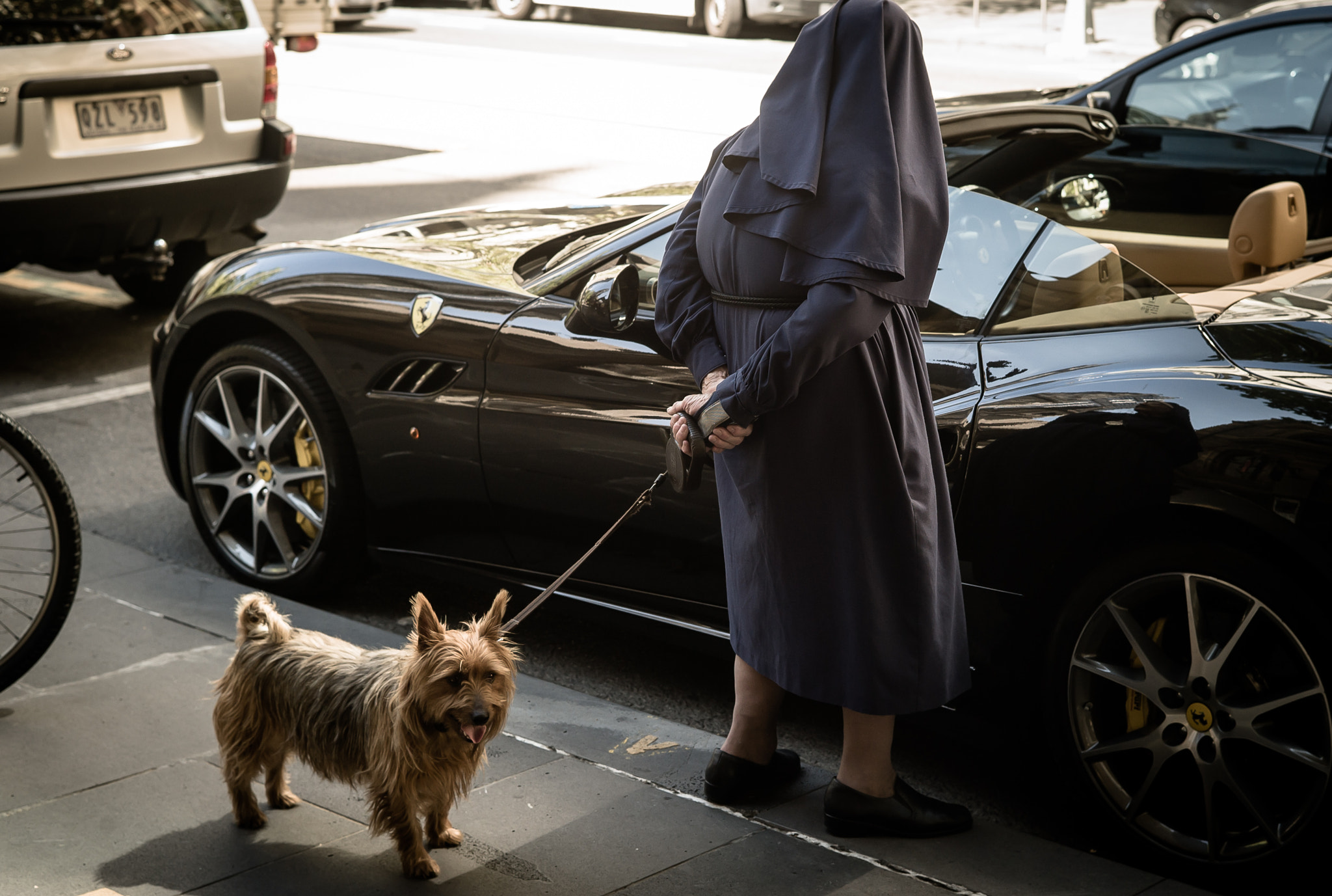 Photograph Dog, Nun and Ferrari . . . by Eddie Shin on 500px