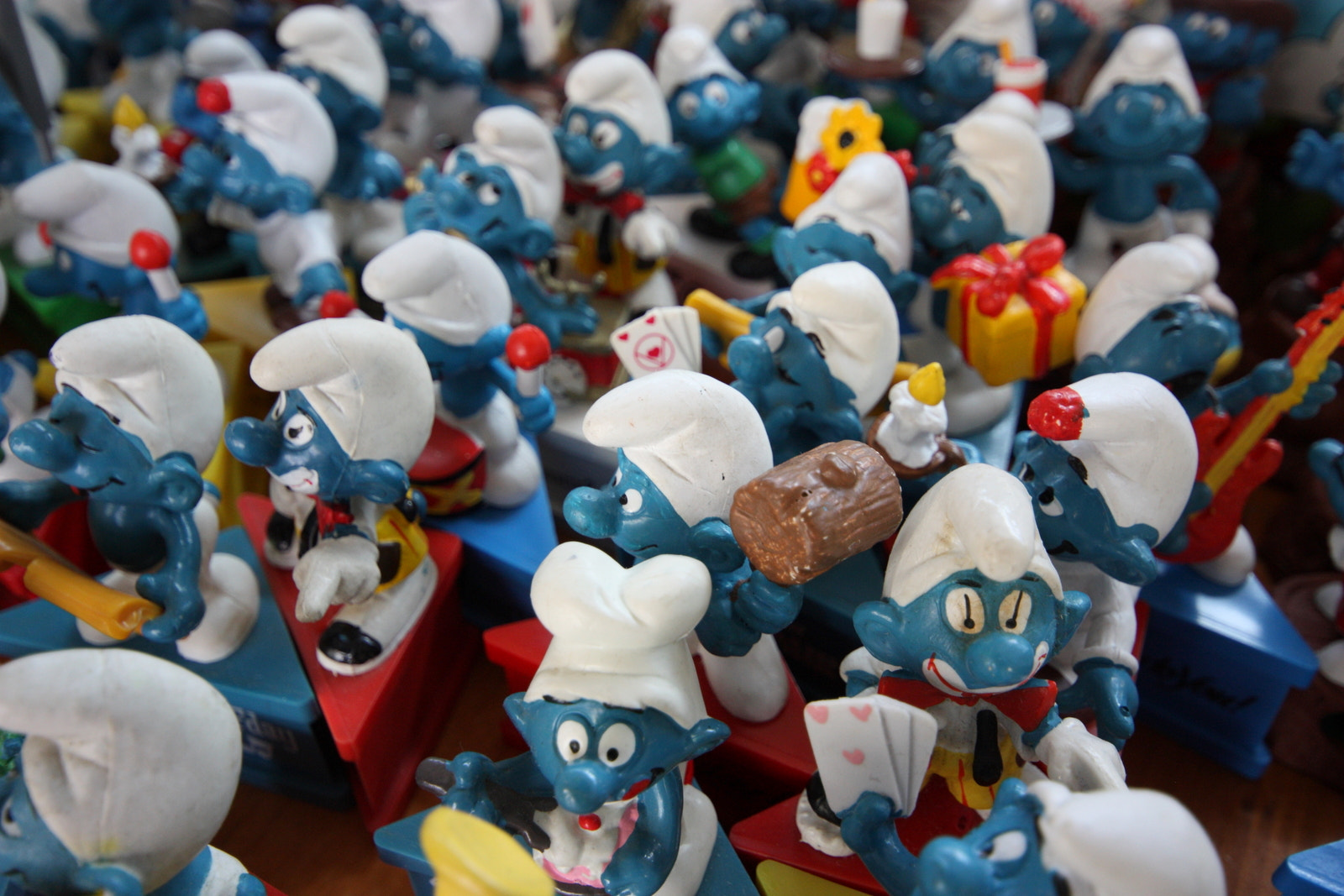 Photograph Smurf Invasion by Philipp K on 500px