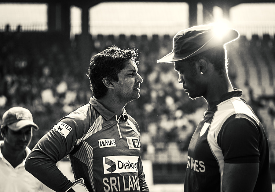 Kumar Sangakkara vs the West Indies (b/w) by Son of the Morning Light  on 500px.com