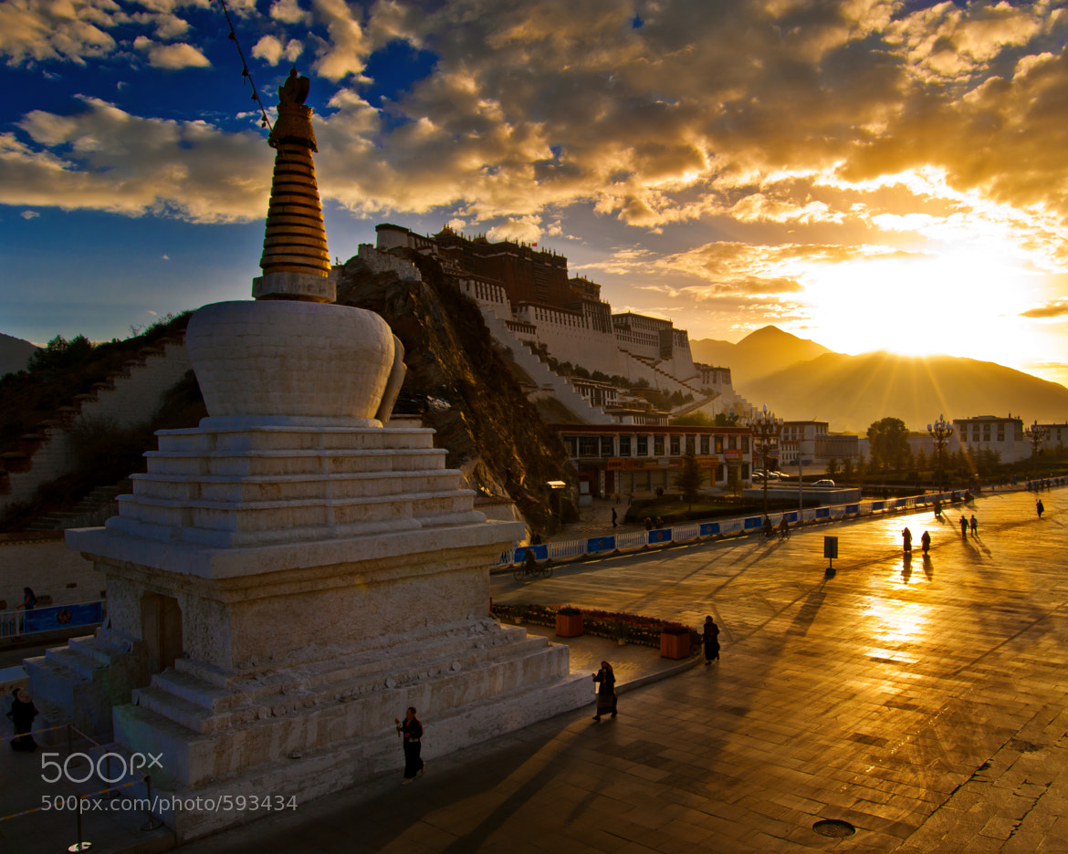 Photograph Potala palace by Coolbiere. A. on 500px
