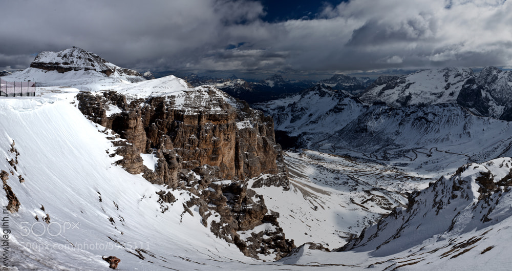 Photograph Val di Fassa by Pavel Blagihh on 500px