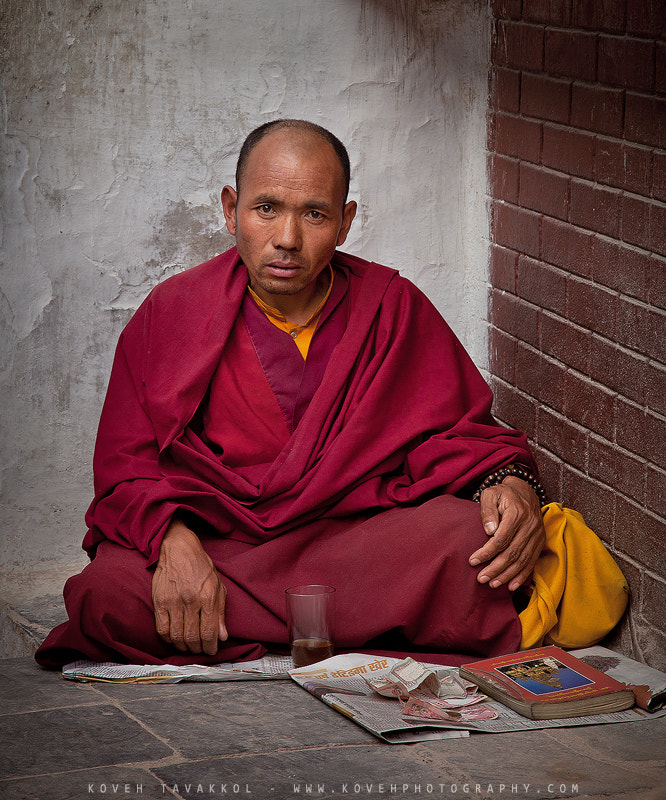 Photograph Buddhist Monk by Koveh Tavakkol on 500px