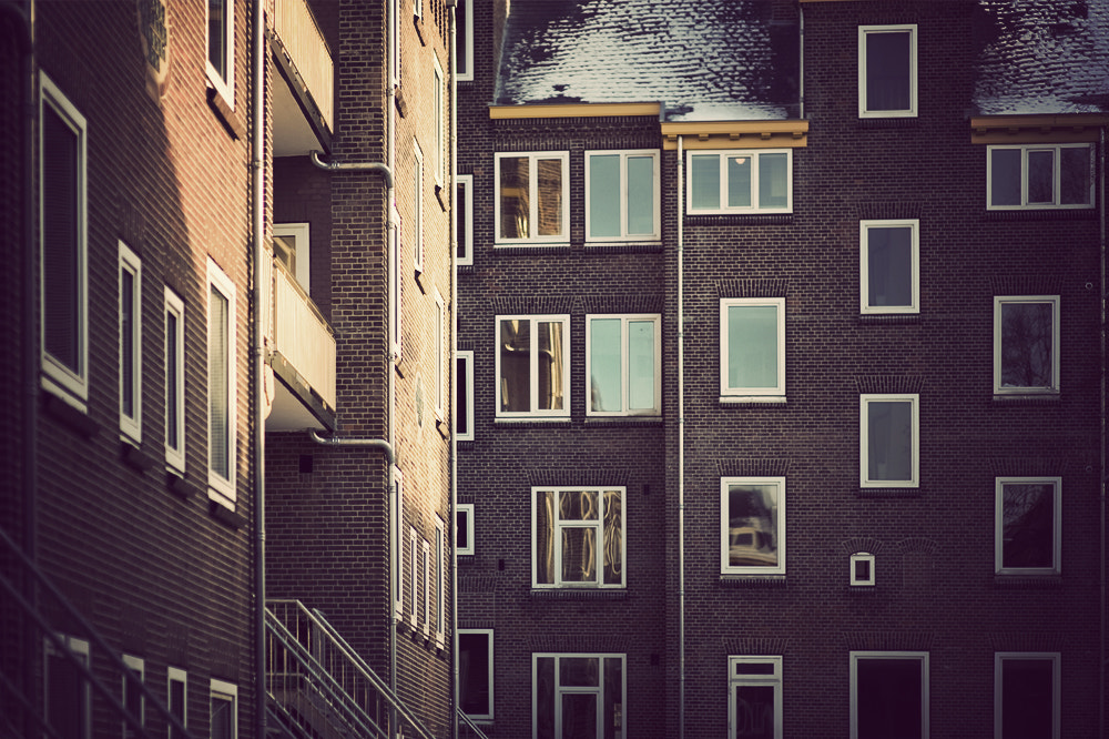 Photograph Amsterdam windows by Raphaël Dupertuis on 500px