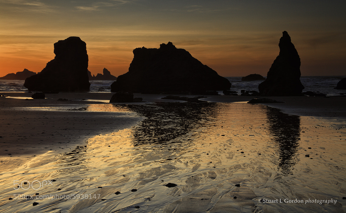 Photograph Sea Stack Silhouettes by Stuart Gordon on 500px