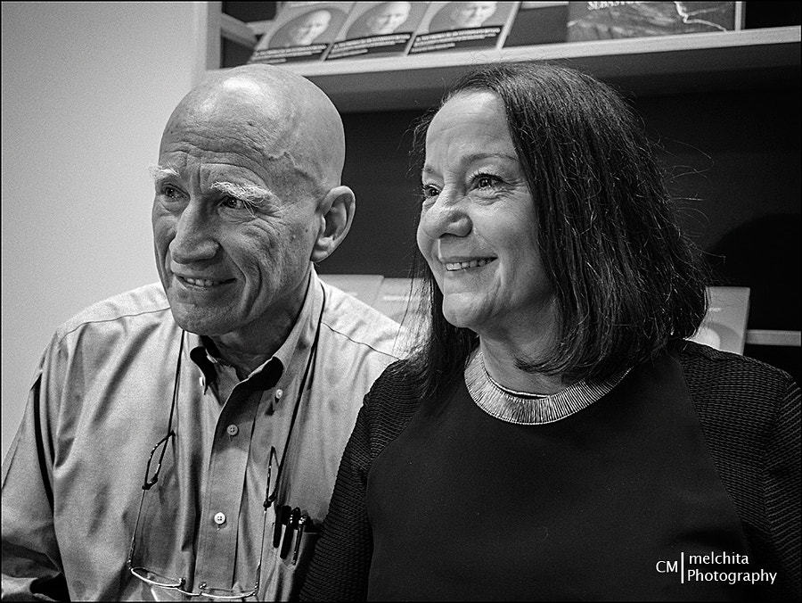 Photograph Sebastiao Salgado and his wife Lélia by Conchita Meléndez on 500px