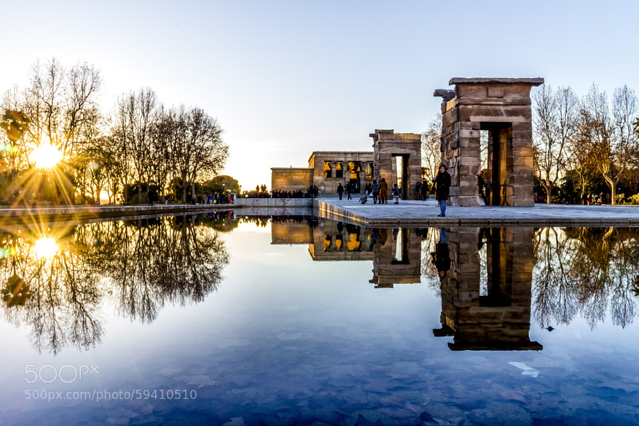 Photograph Temple of Debod by Javier  on 500px