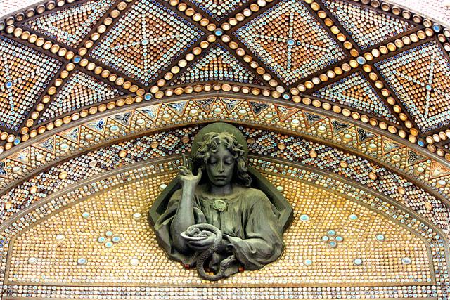 Photograph Mosaic on a Church by Mahesh Rao on 500px
