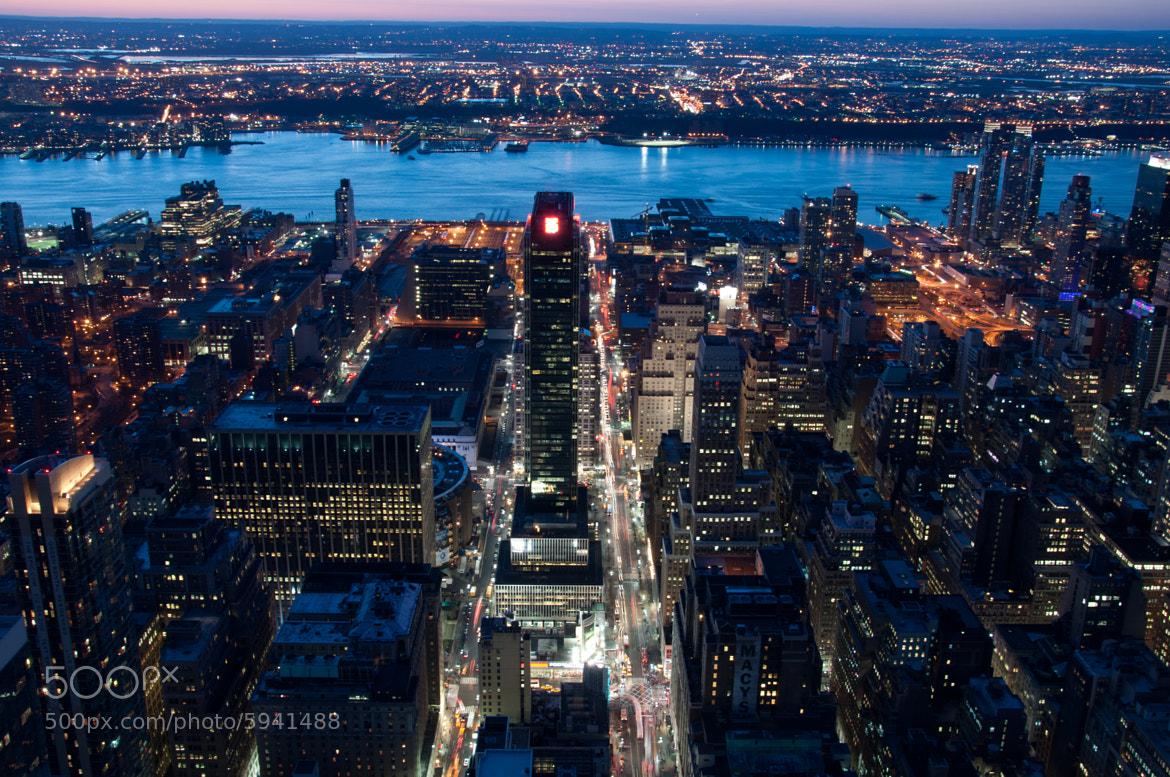 Photograph View from Empire State Building by Horst Gutmann on 500px
