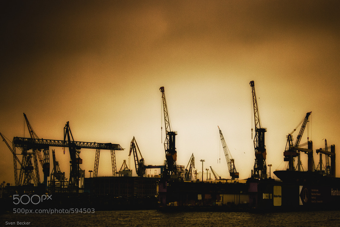Photograph dockside by Sven Becker on 500px