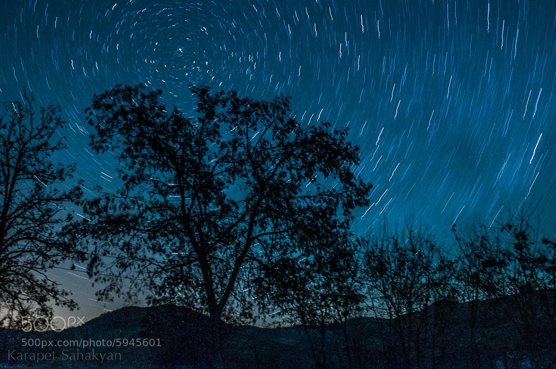 Photograph Stars by Karapet Sahakyan on 500px