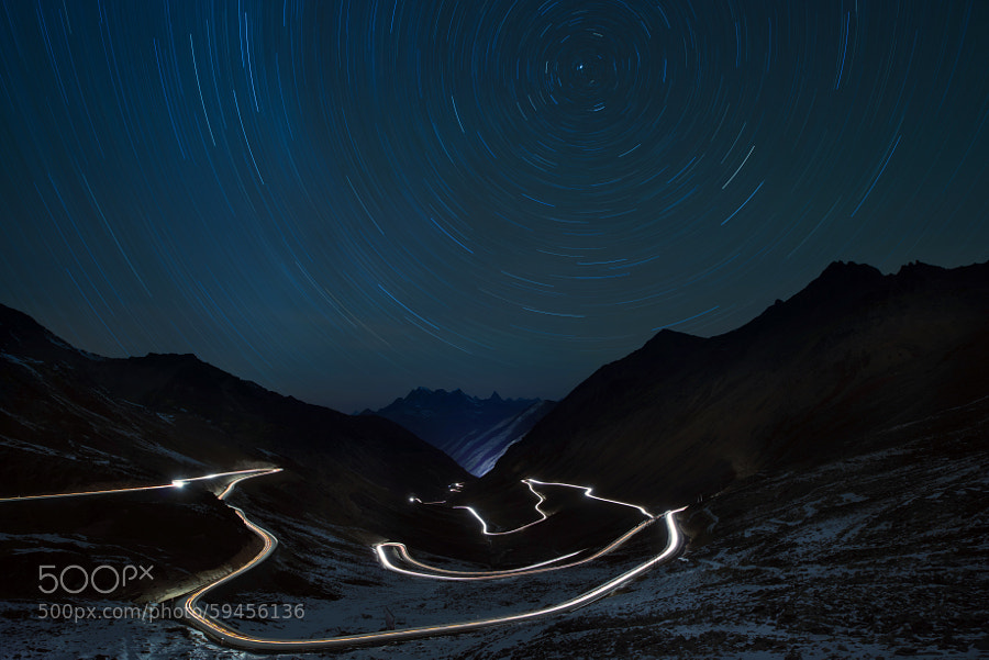 Photograph The Road under the stars by Dale Huang on 500px