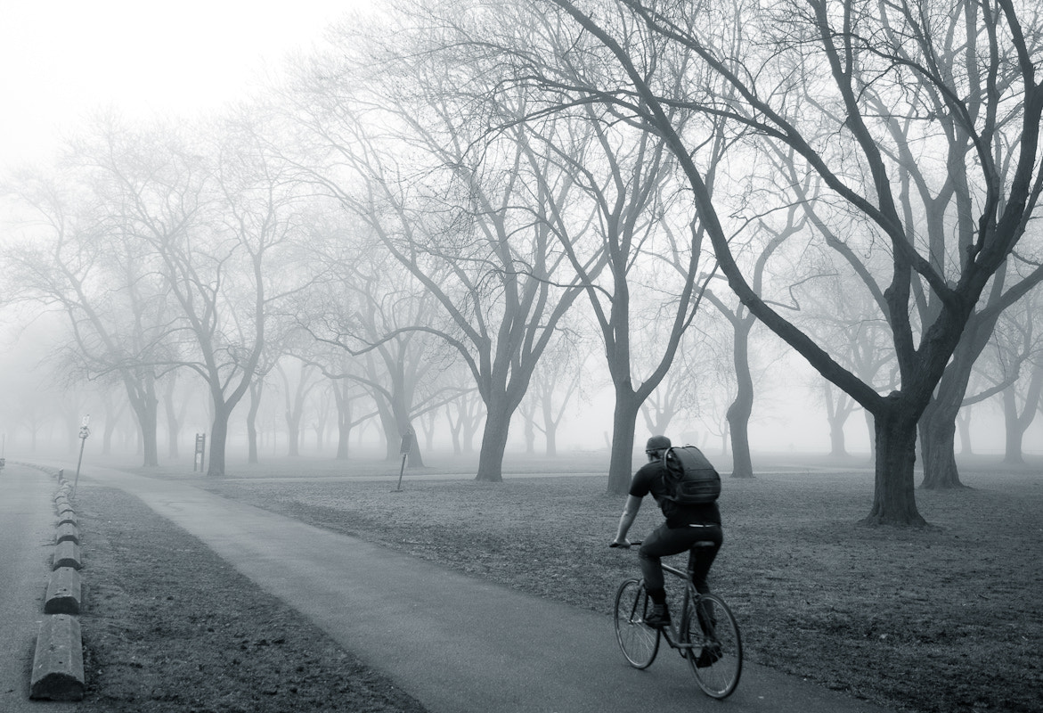 Photograph into the fog by Frank Lemire on 500px