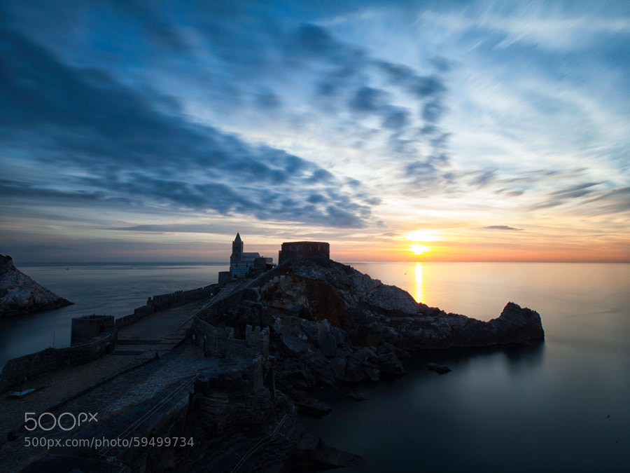 Sunset in Portovenere [high] by Samuele Silva on 500px.com