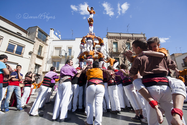Photograph Castells  by Queralt  Vegas  on 500px