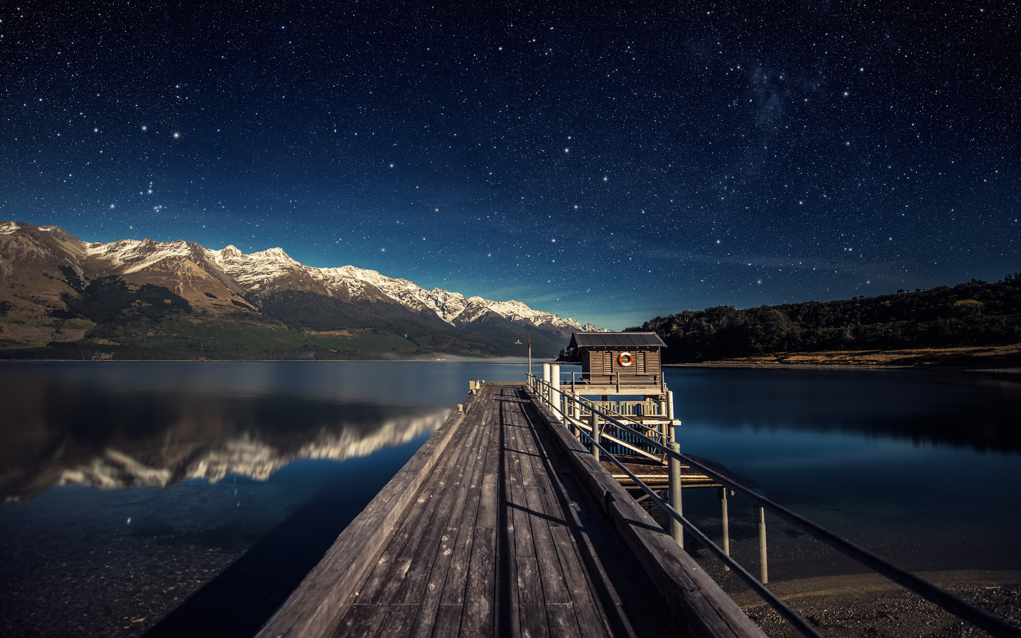Photograph Moonlit Night by Dominic Kamp on 500px