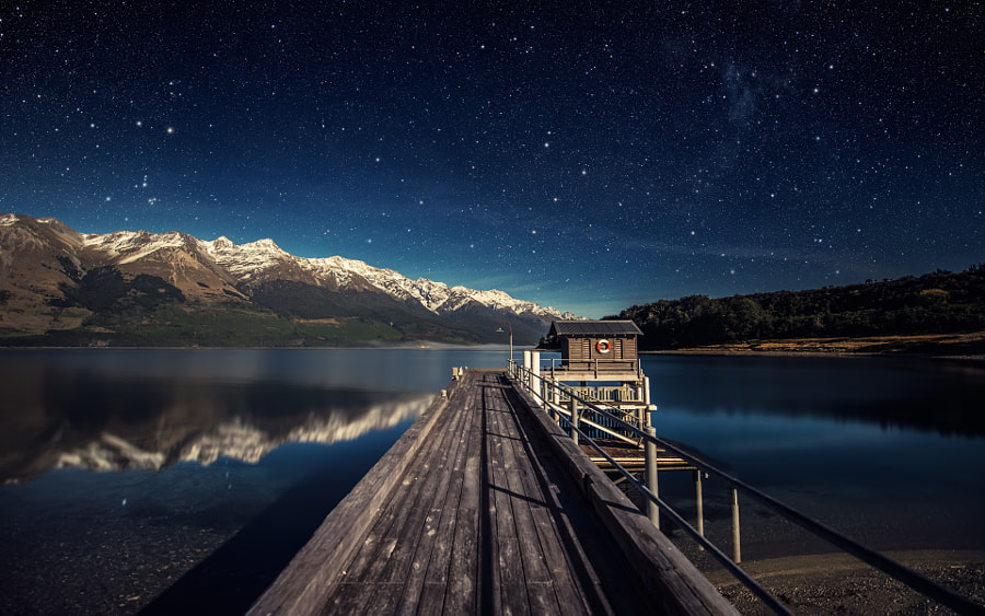 Moonlit Night by Dominic Kamp on 500px.com