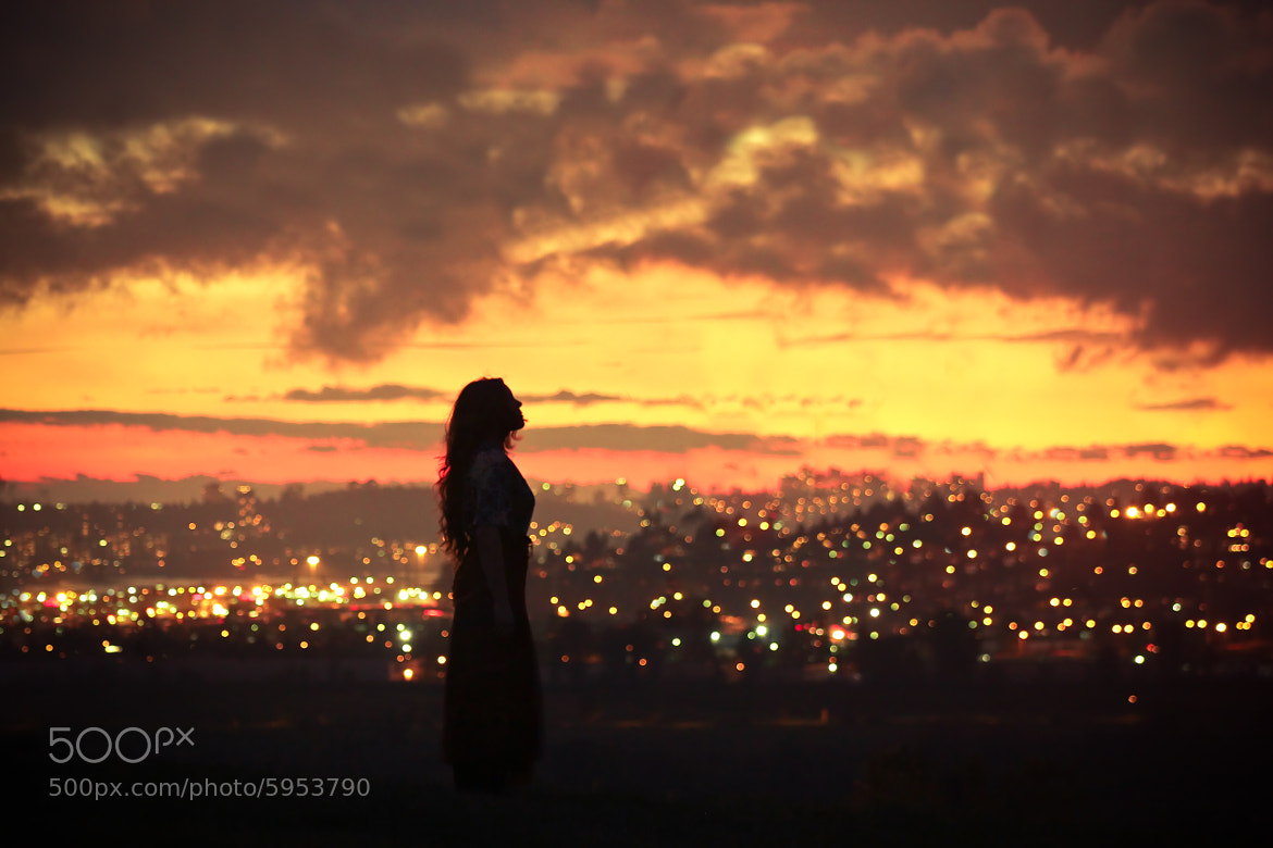 Photograph The Fading Night to City Light by Lizzy Gadd on 500px