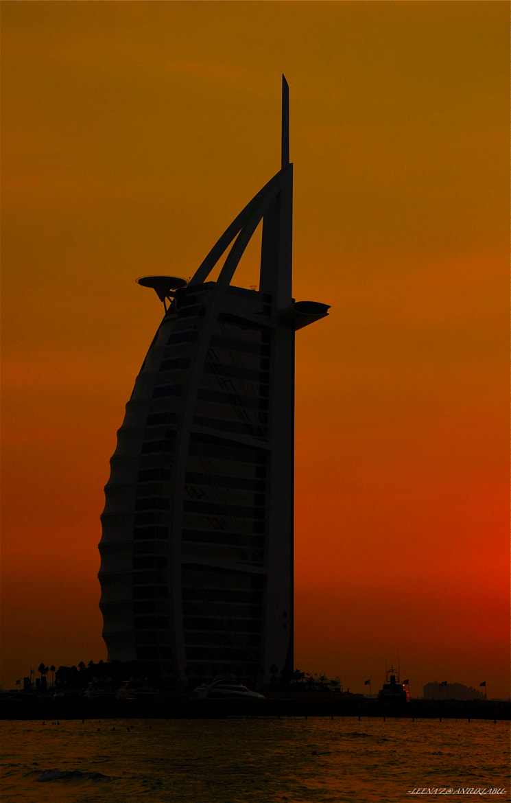 Photograph Silhouttes (Burj Al Arab) by Leena'z Anilzam on 500px