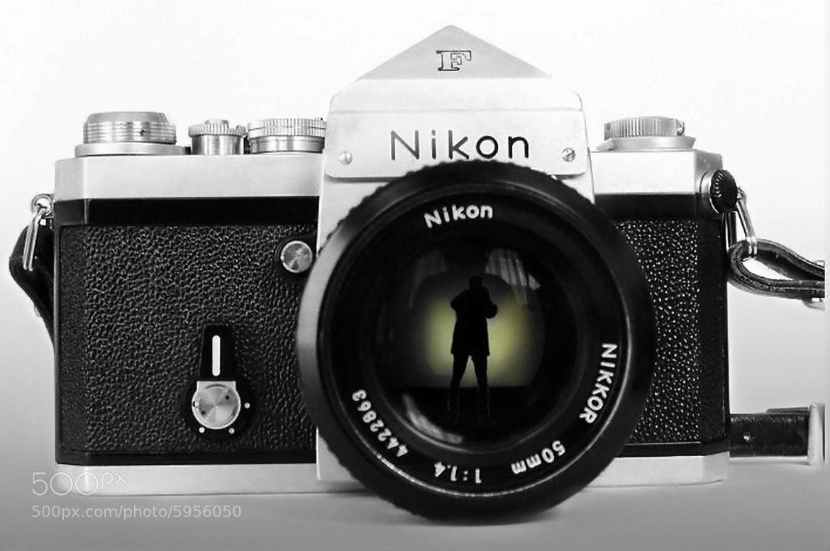 Photograph ☆ Shooting myself by Nikon F by Ken Ohsawa on 500px