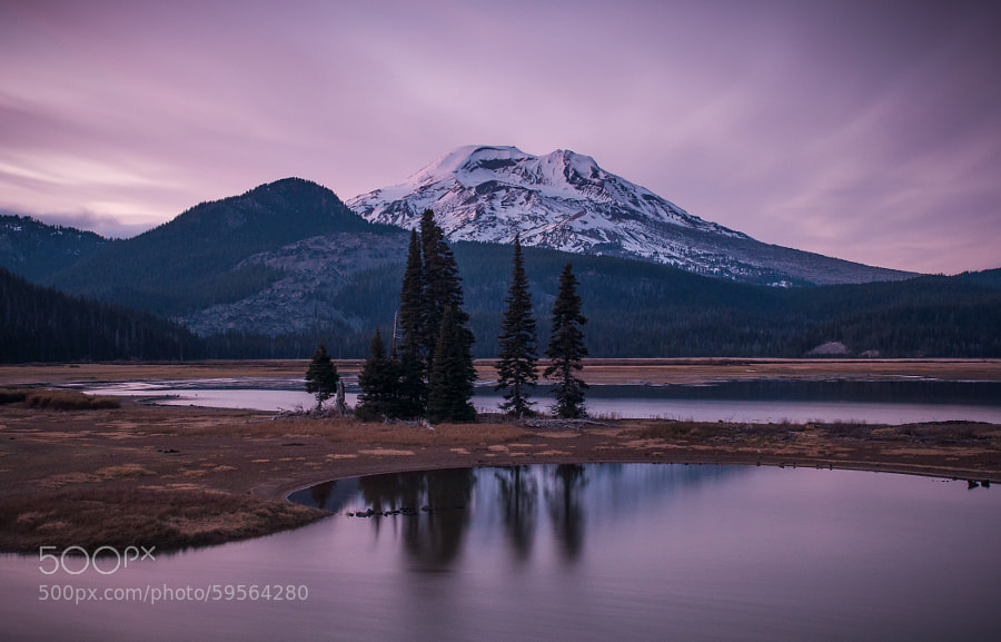 Photograph Sparks Lake Cool Sunset by Jeff Carlson on 500px