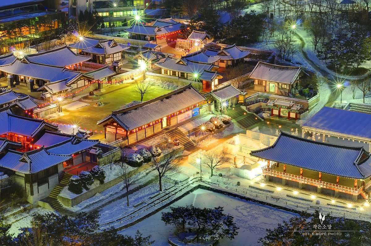 Photograph Korea Namsan Hanok Village by Minsoo Han on 500px
