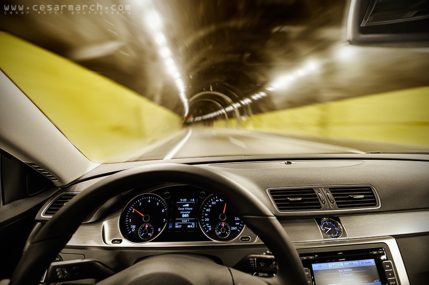 Photograph Speed tunnel by Cesar March on 500px