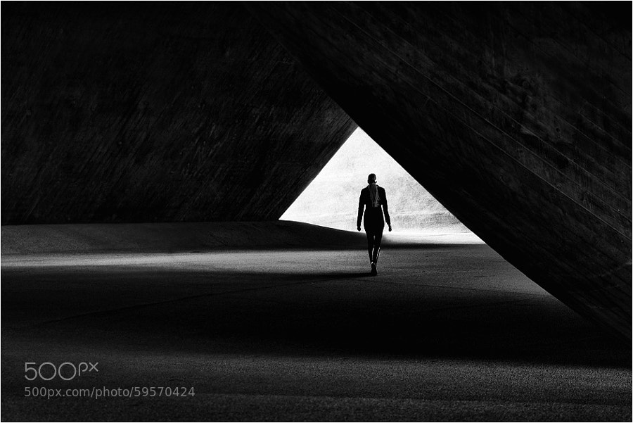 Photograph tunnel by Kai Ziehl on 500px