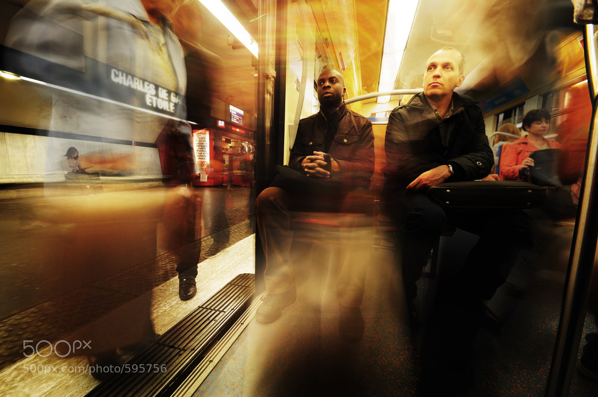 Photograph PARIS METRO by Siriwit Pewon on 500px