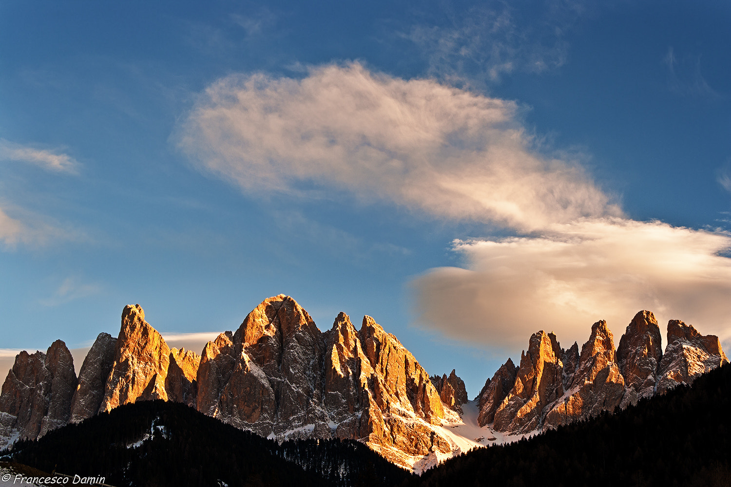 Photograph Tramonto sui monti by Francesco Damin on 500px