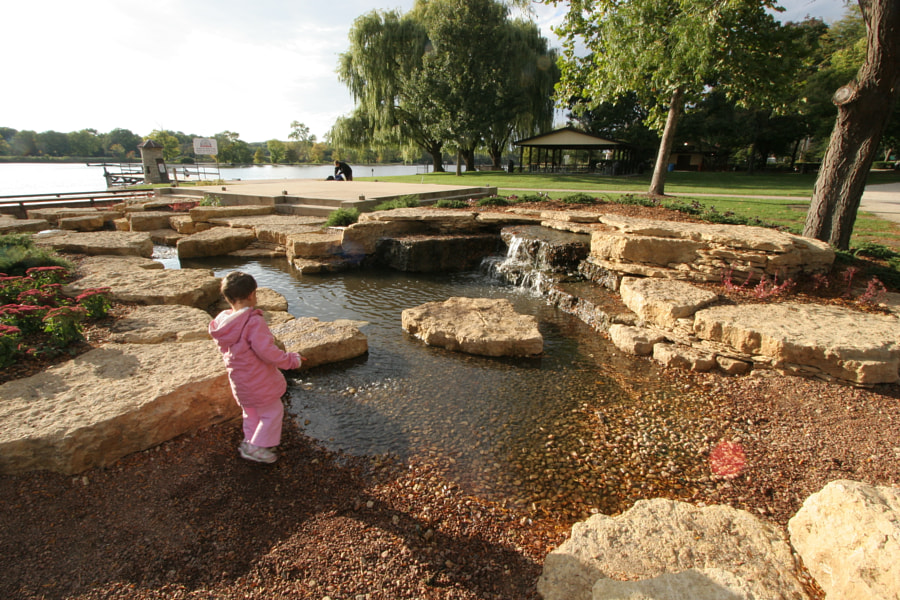 Water Feature at Pottawatomie Park