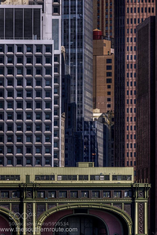 Photograph Core of concrete corners by regis boileau on 500px